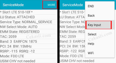 Cara Lock 4G Only Samsung Galaxy A5 2015 - COCMONVISTAR