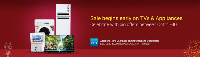 Flipkart Large Appliances Festival Sale