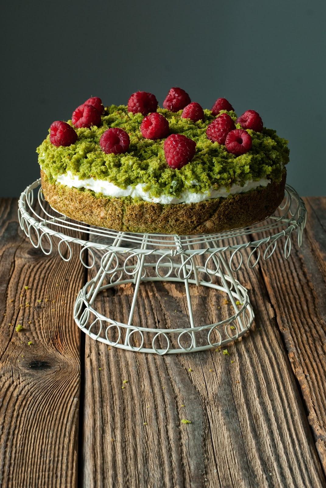 Bezglutenowy leśny mech - ciasto ze szpinakiem