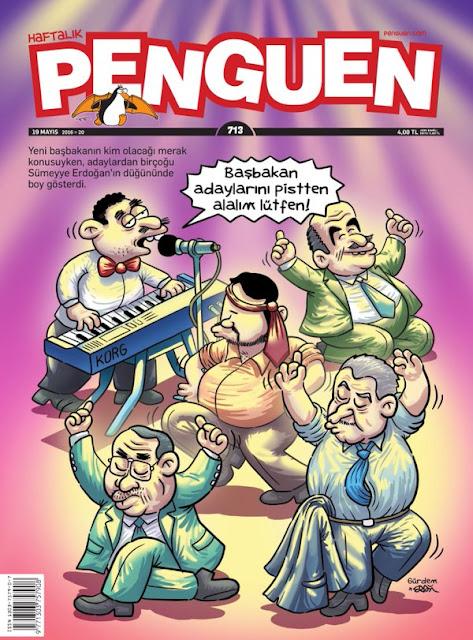 Penguen Dergisi - 19 Mayıs 2016 Kapak Karikatürü