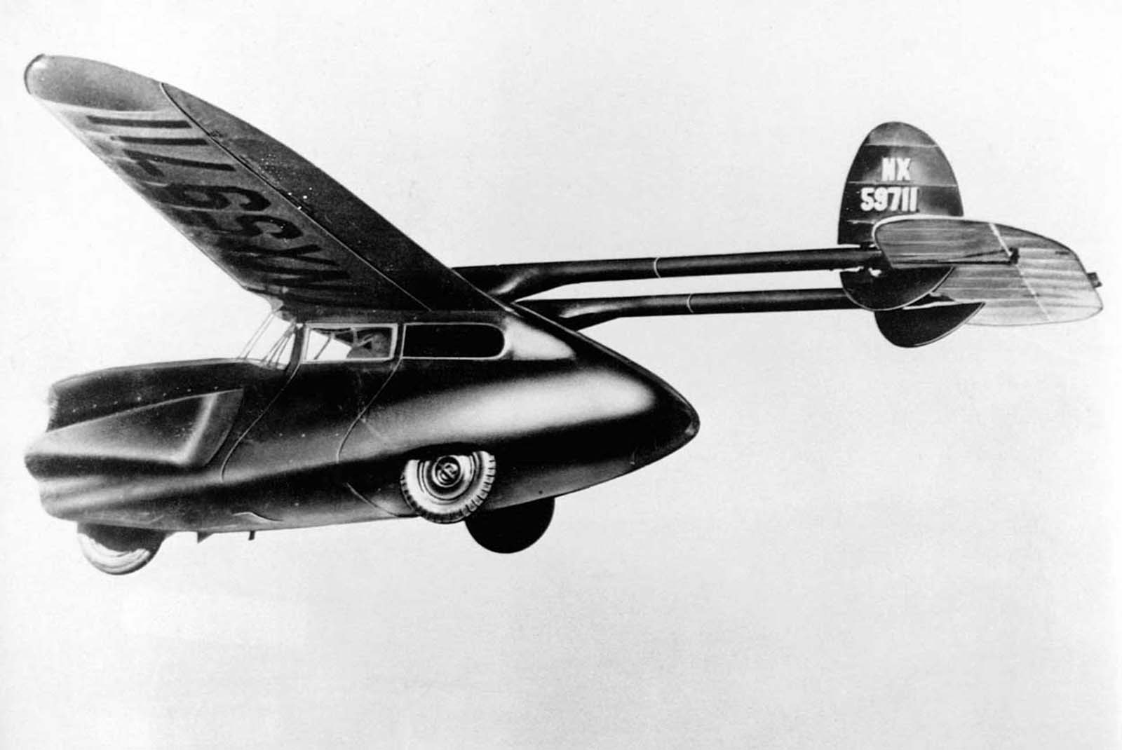 The ConvairAirCar had an engine capable of 130 horsepower. 1946.