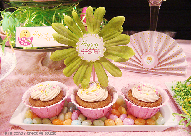 easter dessert table ideas, easter desserts, easter party decor