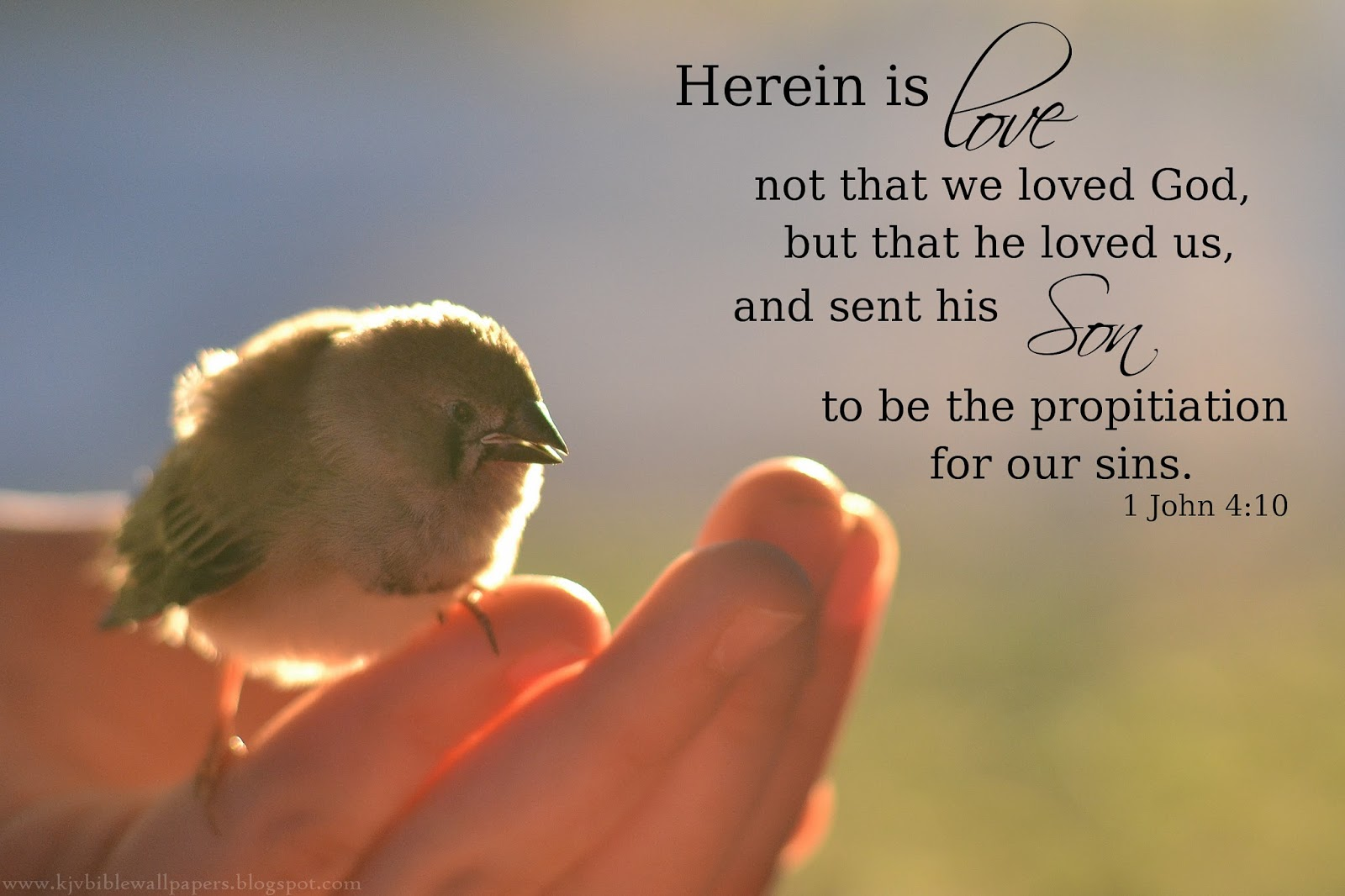 Kjv Bible Wallpapers Here Is Love