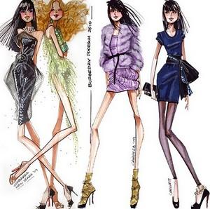 Fashion Illustration Elements Of Fashion Illustration Textile Learner