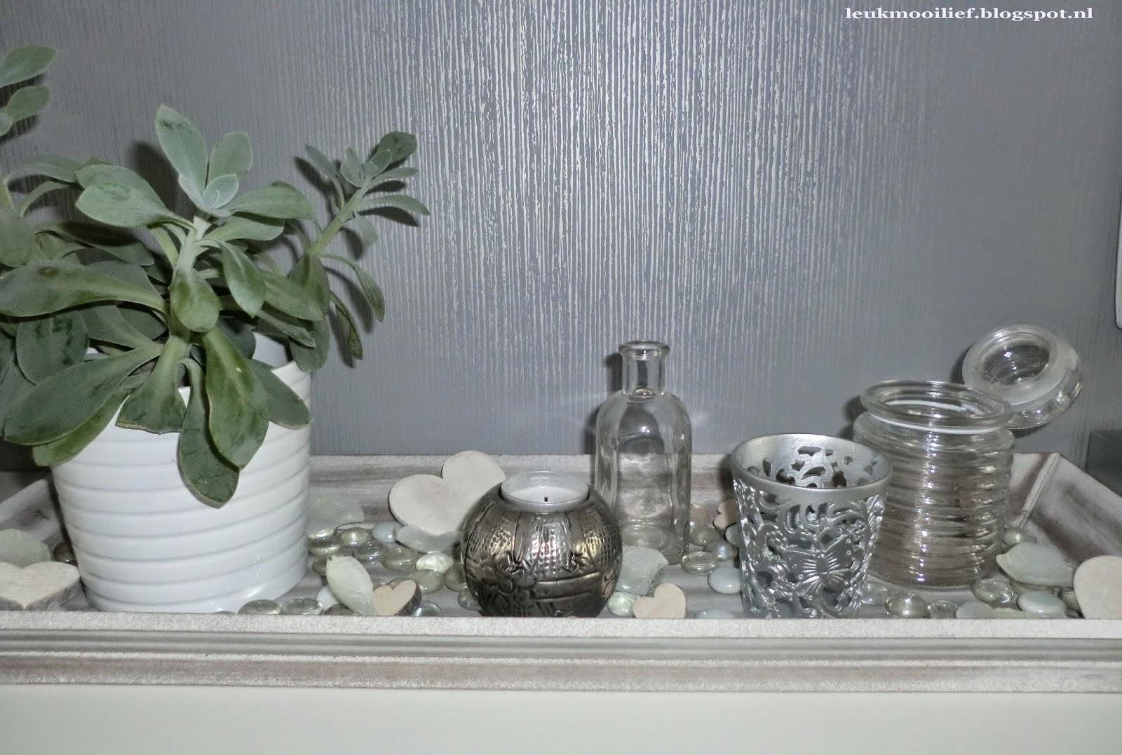 Leuk mooi lief decoratie variatie for Decoratie op dressoir