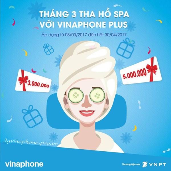 Tặng Voucher quà tặng trị giá 3 - 5 triệu cho hội viên Vinaphone Plus