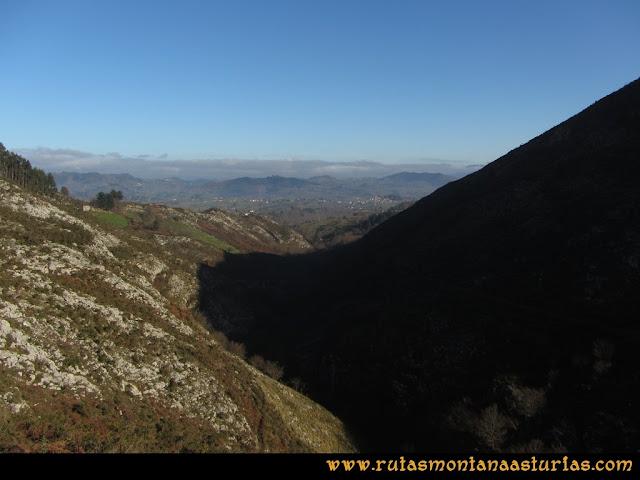 Ruta de las Foces del Rio Pendón y Varallonga: Primer tramo de las Foces
