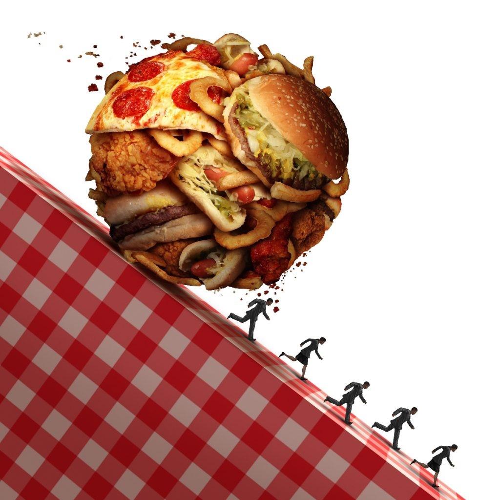 Para a obesidade o aumento foi cerca de quatro vezes nos homens de 2 8 para 12 4 e de duas vezes nas mulheres de 8 para 16 9