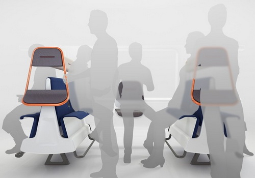 www.tinuku.com PriestmanGoode design Island Bay and Horizon seats to increase capacity trains