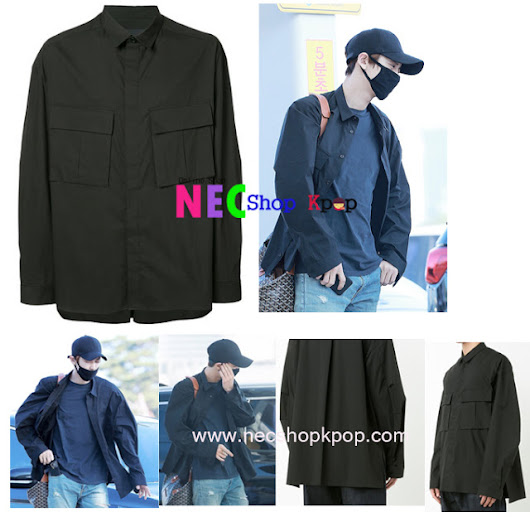 [EXO STYLE] Exo Style-Pocket Shirt (Black)