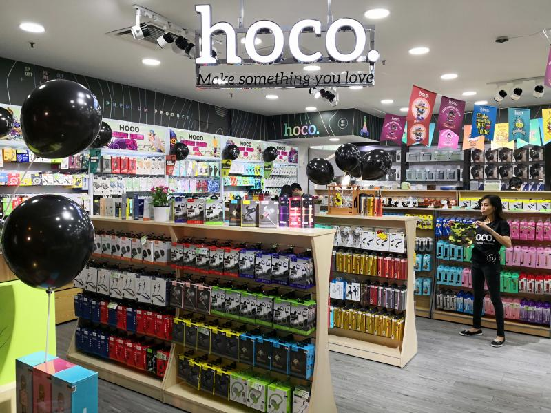 RUNNING WITH PASSION: HOCO O2O Retail Concept Store Launch