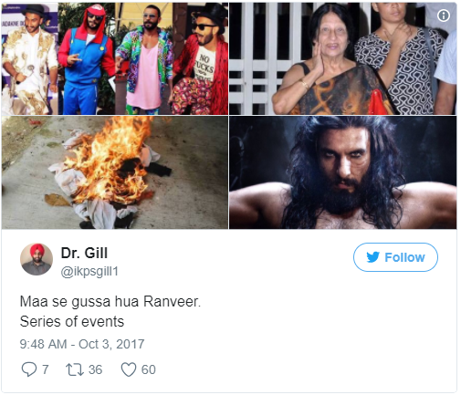 Ranveer Singh's First Look As Alauddin Khilji In Padmavati Wins Internet