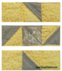 Triangle Quilt Pattern free Tutorial