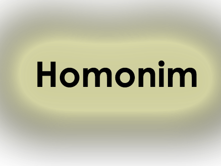 Pengertian Homonim Homofon Homograf Dan Polisemi