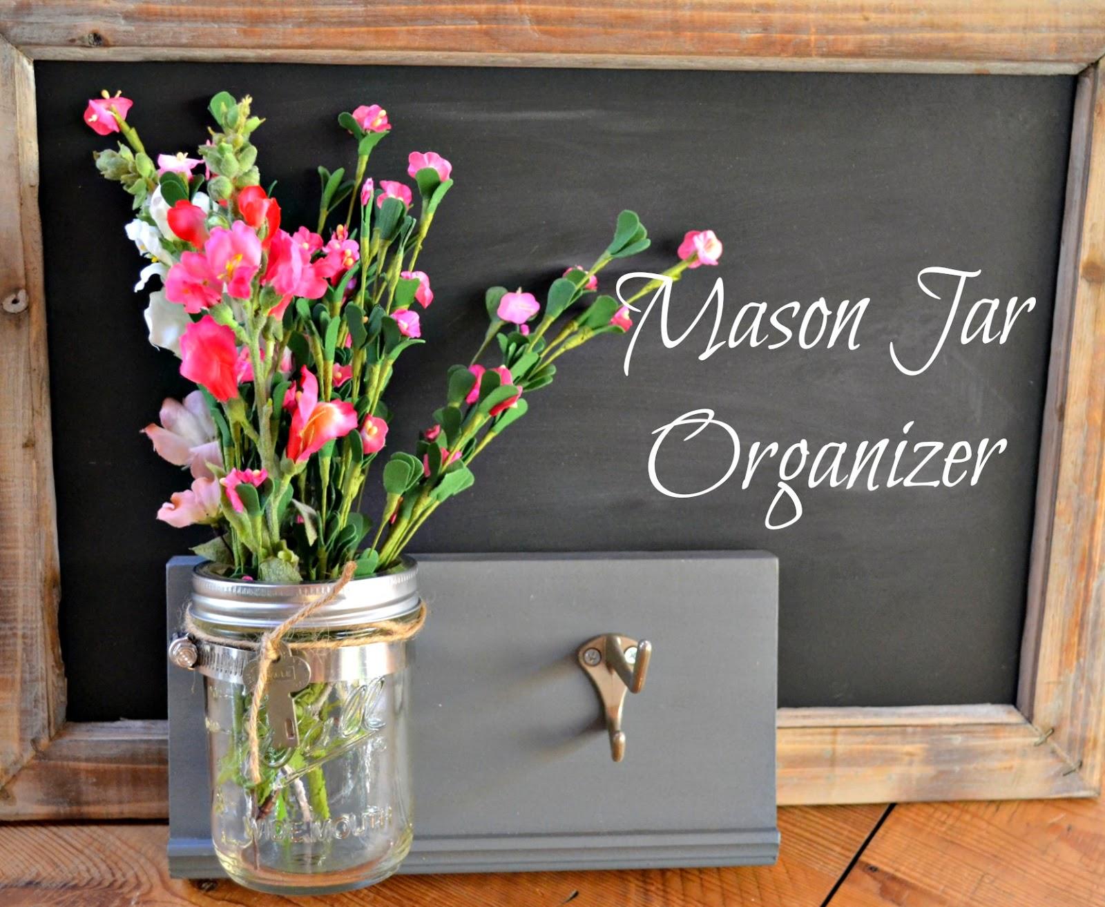 mason jar organizers www.homeroad.net