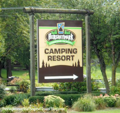 Hersheypark Camping Resort in Hershey Pennsylvania