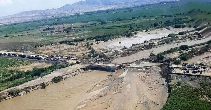 COEN: 36 puentes afectados por torrenciales lluvias a escala nacional, informó el Centro de Operaciones de Emergencia del Ministerio de Transportes y Comunicaciones