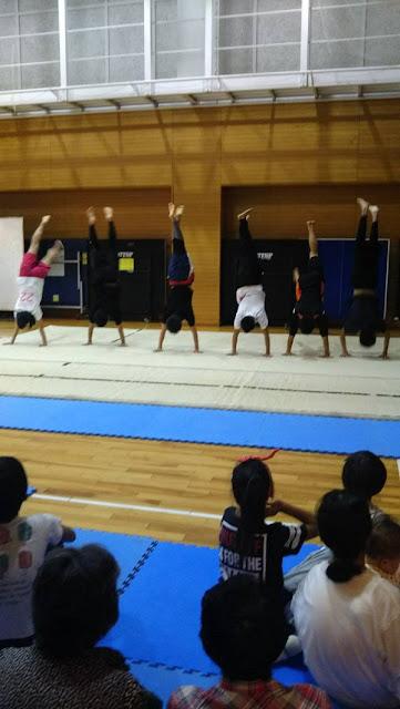 アクロバット体操教室2