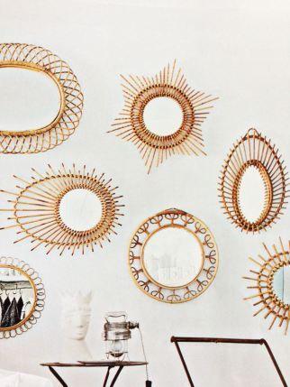 Ade dans l 39 atelier diy miroir soleil cuivr for Miroir soleil cuivre