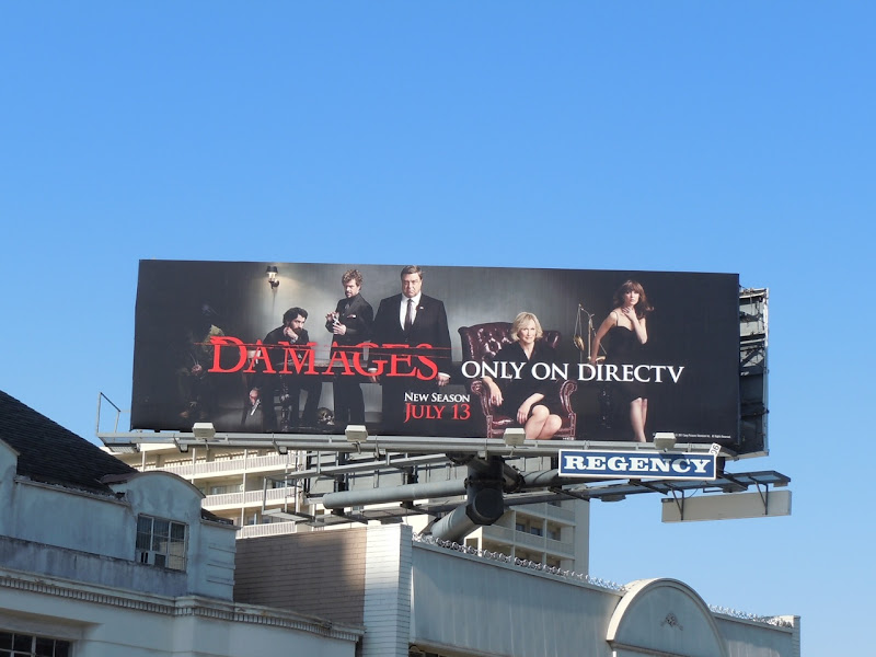 Damages season 4 TV billboard