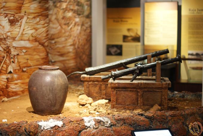 Bahan Pameran Muzium Lukut