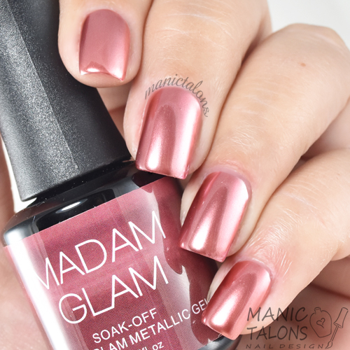 Madam Glam Metallic Gel Life On Mars Swatch