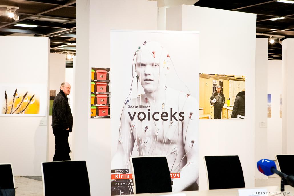 preses konference Voiceks Rīgas mākslas telpas