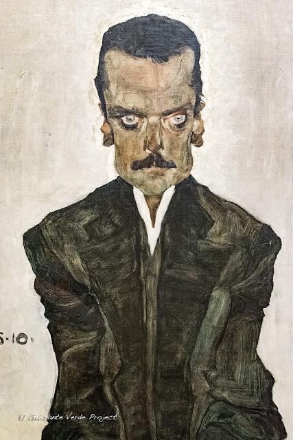 Egon Schiele: Retrato de Eduard Kosmack - Belvedere Museum, Viena