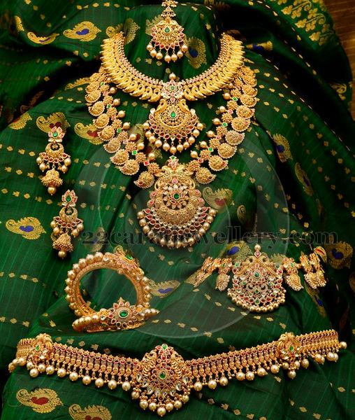 Antique Bridal Jewellery Collection Jewellery Designs