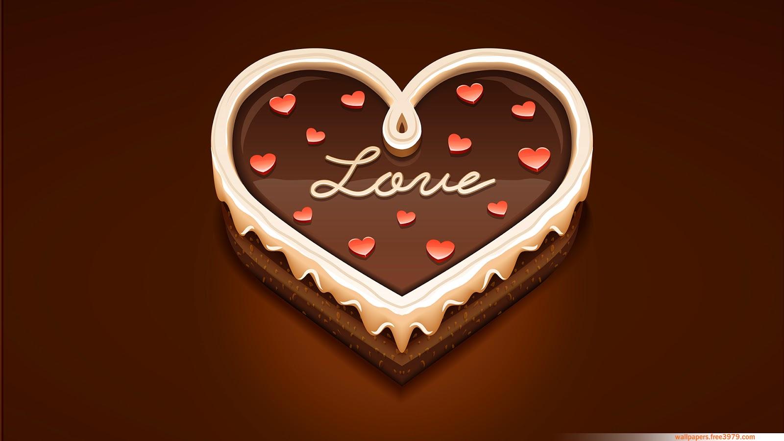 wallpapers-wallpaper: love heart sweet chocolate