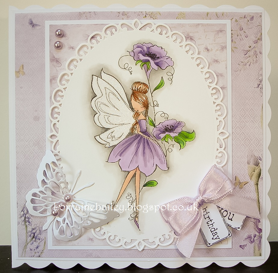 Mrs Bs Blog Flower Fairy At Passion For Promarkers
