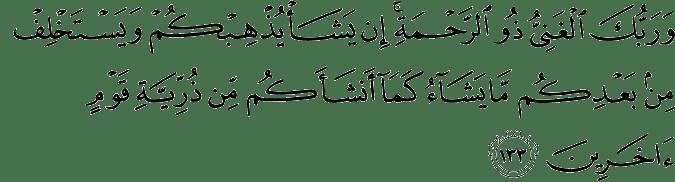 Surat Al-An'am Ayat 133