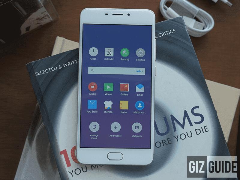 Meizu M6 5.2-inch display