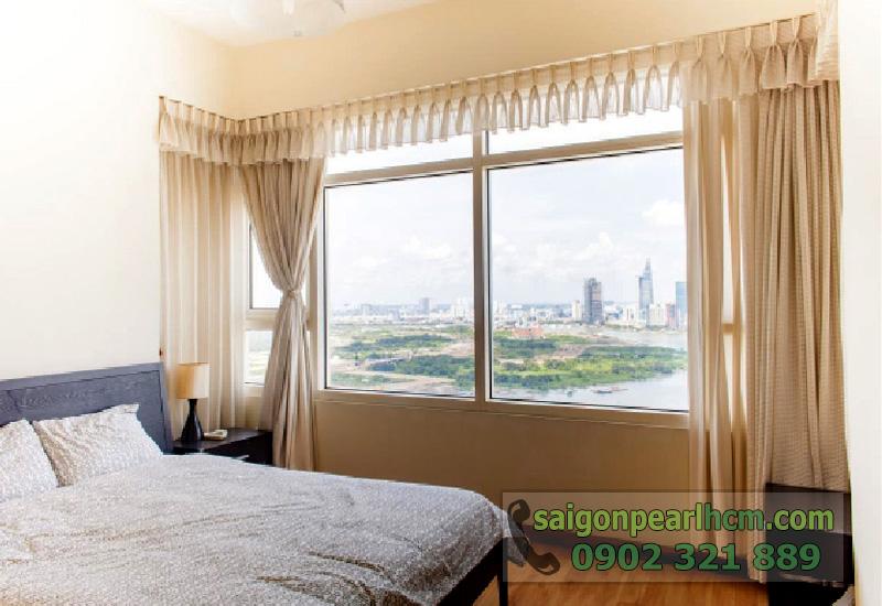 Bán căn hộ Saigon Pearl tòa nhà Ruby2 - giường ngủ
