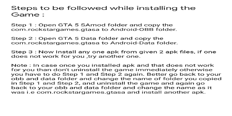 Install gaming guruji blog gta v on android instruction