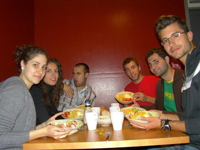 Cena en los bálticos