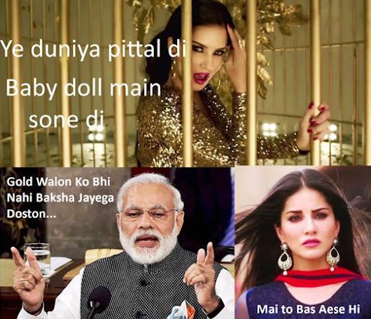 The Reason Why Sunny Leone is Afraid of Narendra Modi