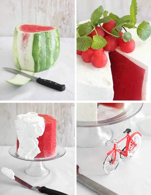 Fresh Watermelon Cake Sprinkle Bakes