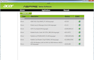 driver laptop acer