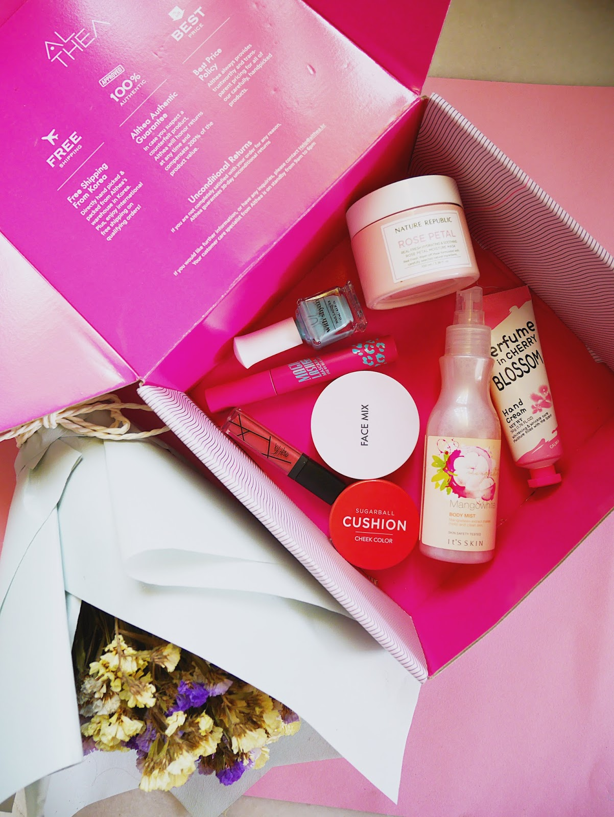 Minnie Chang : Althea Beauty Box | The Romantic Date Box