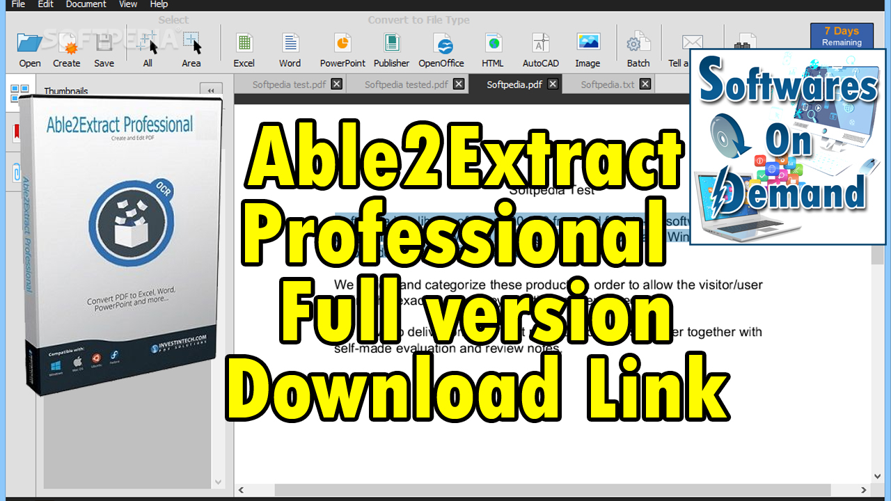 Able2Extract PDF Converter 10 0 5 0 + Crack On Demand