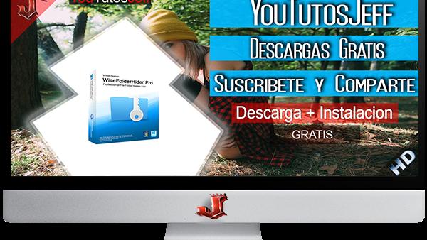 Wise Folder Hider Pro 3.41.117 FULL ESPAÑOL