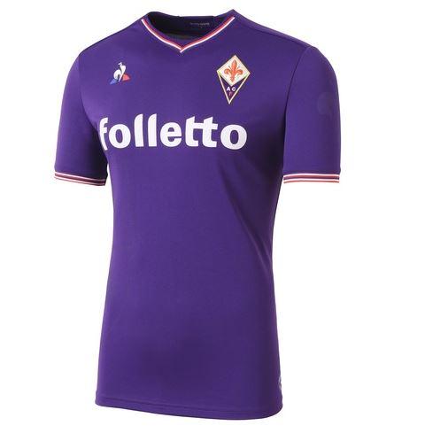 Le maglie della Fiorentina 2017 2018