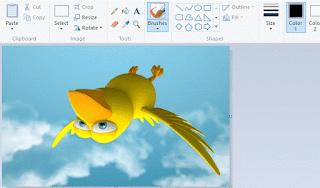 Xoay ảnh, đảo ảnh, lật ngược ảnh bằng MS Paint