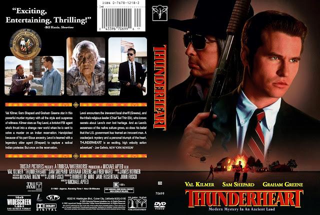 Thunderheart DVD Cover