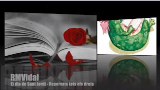 EL DIA DE SANT JORDI. ROSA M. VIDAL
