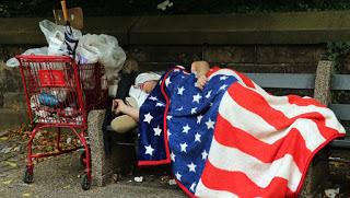 ONU: ci sono più poveri negli USA che in Venezuela.   Circa 40 milioni vivono in povertà,   18,5 milioni in condizioni di estrema povertà   e 5,3 milioni vivono in condizioni di estrema povertà tipiche del terzo mondo,  nel paese più ricco del mondo.