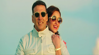 Akshay Kumar and Ileana Dcruz Into Nice Goggles in Rustom Film