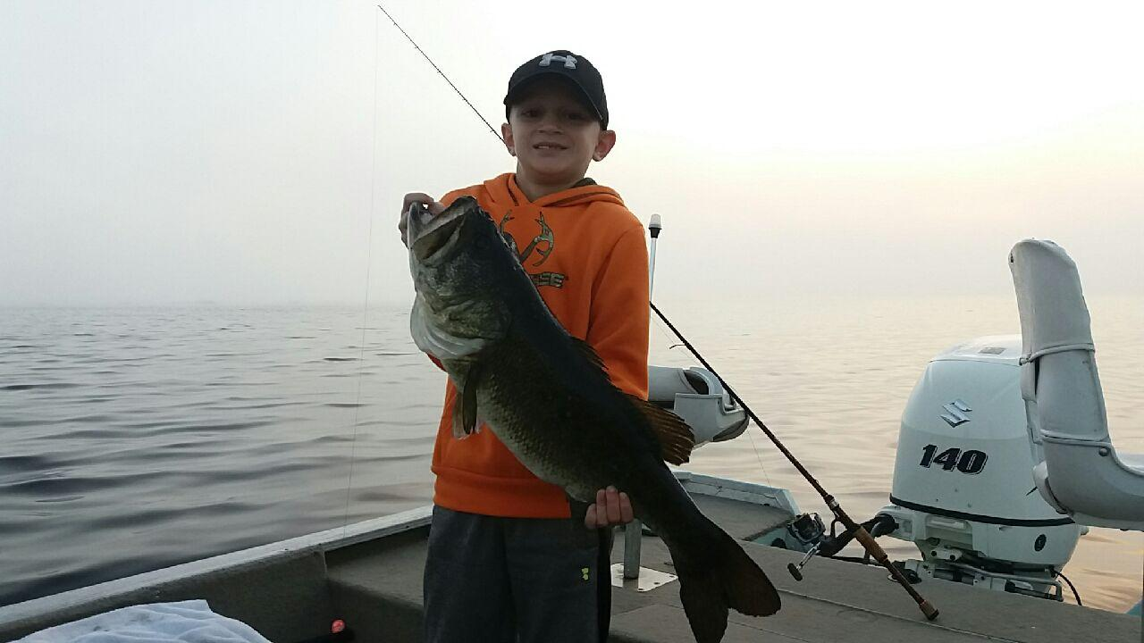 Okeechobee fishing report lake okeechobee bass fishing for Bass fishing reports