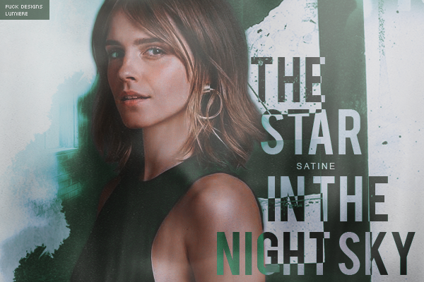 CF | The Star in the Night Sky (Satine)